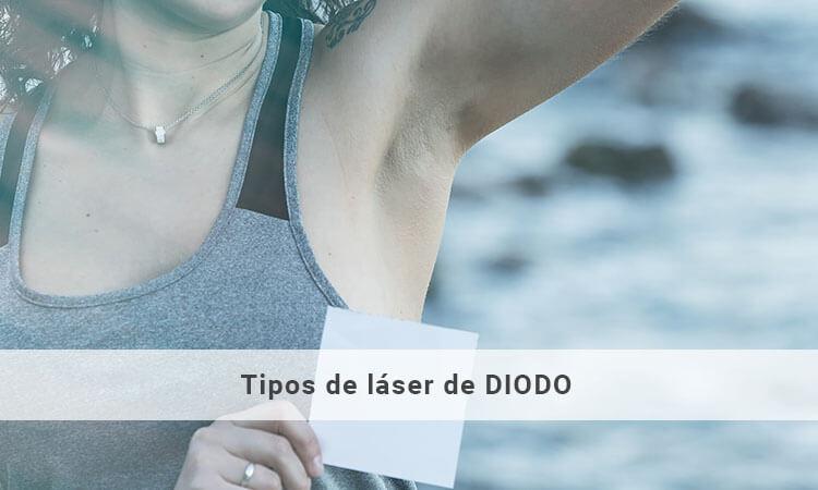 Tipos de depilación láser de diodo
