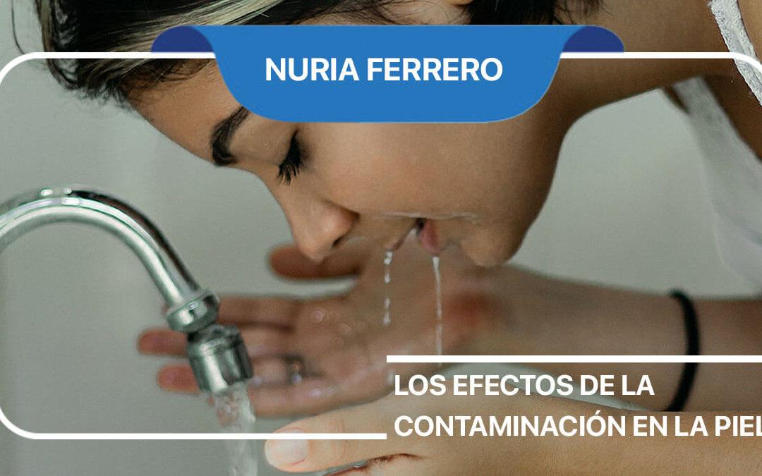 Efectos de la contaminación en la piel